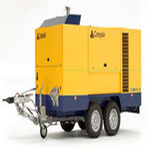 Mobile screw compressors