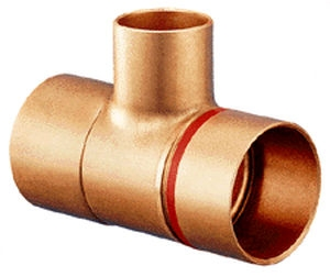 Copper weld fitting