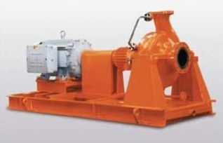Heavy duty centrifugal process pump