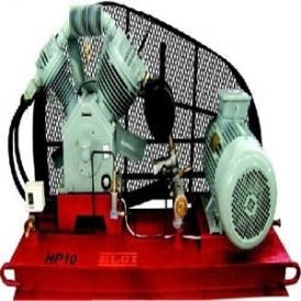 Air cooled high pressure reciprocating compressor (stationary)