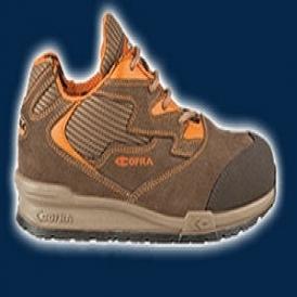 Aluminium toe-cap safety shoes