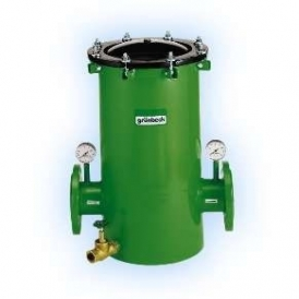 Cartridge filter for liquids