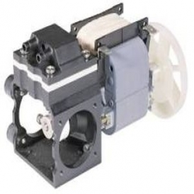 Chemical resistant diaphragm liquid pump