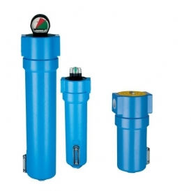 Compressed-air / technical-gas micro-filter