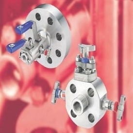 Double block valve