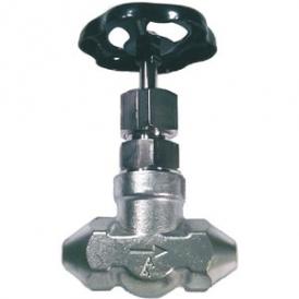 High pressure stop valve