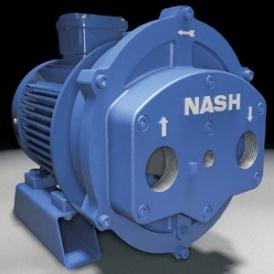 Energy saving liquid ring air compressor