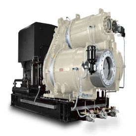 Oil free centrifugal air compressor