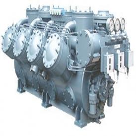 Open reciprocating refrigeration compressor