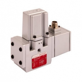 Pilot operated hydraulic proportional solenoid valve