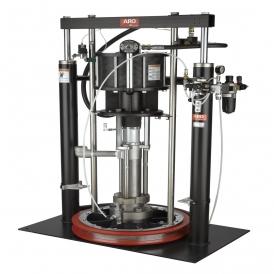Piston pump for UV ink