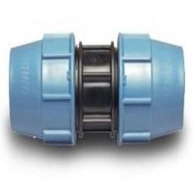Plastic compression coupling