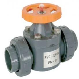 Plastic diaphragm valve