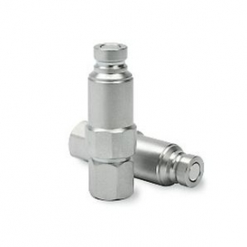 Pressure eliminator nipple