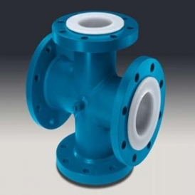 PTFE flanged coupling