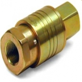 Quick coupling for cleaning applications