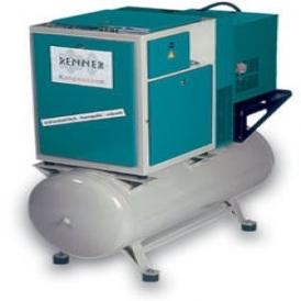 Screw compressor with refrigerant dryer (stationary)