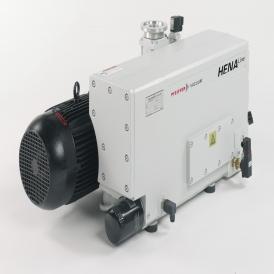 Single-stage rotary vane vacuum pump