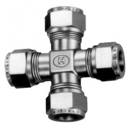 Stainless steel cross ring coupling