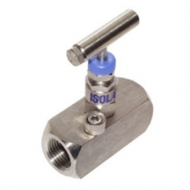 Pipe and Tube end caps Stainless steel needle valve
