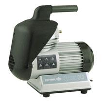 Monobloc diaphragm air compressor