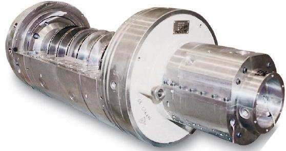Pipeline centrifugal gas compressor