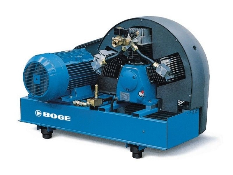 Reciprocating air booster compressor