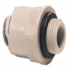 O-ring face seal threaded fitting
