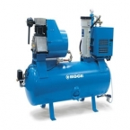 Reciprocating compressor with tank (stationary)
